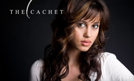 $40 Groupon to The Cachet Salon - The Cachet Salon in Columbus