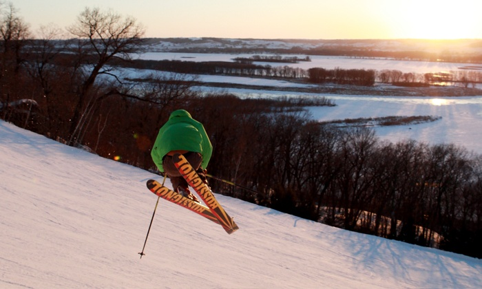 Chestnut Mountain Resort - Chestnut Mountain Resort: One Adult Lift Ticket with Optional Equipment Rental at Chestnut Mountain Resort (Up to 50% Off)