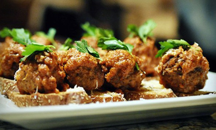 Aria - Cherry Creek: Globally Inspired Fare with Drinks at Aria (Up to 52% Off). Three Options Available.