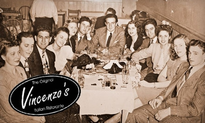 Vincenzo's Ristorante - Downtown: $15 for $30 Worth of Italian Cuisine at Vincenzo's Ristorante