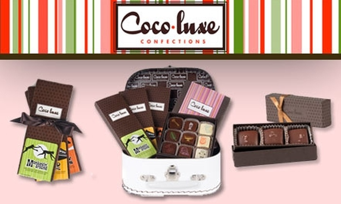 Coco-Luxe Confections - The Haight: $10 for $20 Worth of Exquisite, Refined, Artisan Chocolates and Edibles at Coco-Luxe Confections