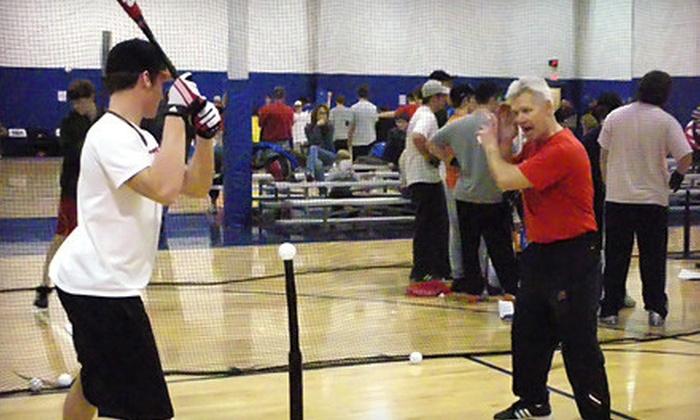 U.S. Baseball Academy - Wichita: $59 for Six-Week Session with Six Hours of Indoor Baseball Instruction at the U.S. Baseball Academy in Wichita ($119 Value)