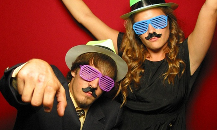 Pop Star Photo Booth - Middleburg Heights: $489.99 for a Four-Hour Photo-Booth Rental from Pop Star Photo Booth ($1,025 Value)