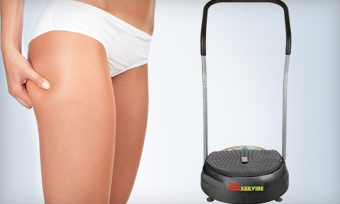 Spice Wellness Calgary: $399 for Exervibe Portable Body Vibration Machine Plus Free Shipping from Exervibe ($1,299 Value)