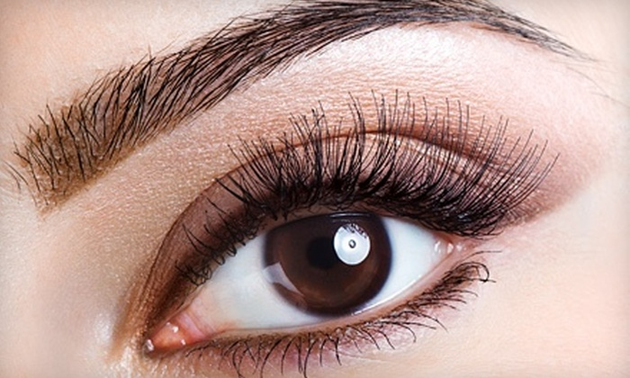 Lashes, Brows & Lips - Allen: Eyebrow Extensions orCustom Shapingwith Option for Tintat Lashes, Brows & Lips (Up to 74% Off)