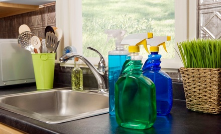 Two or Three Hours of Deep Housecleaning from Spiffy Cleaning Services (74% Off)