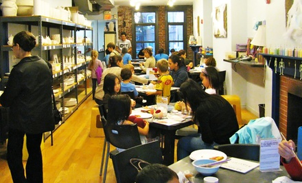 Pottery Painting for One, Two, or Four at The Clayroom (Up to 52% Off)