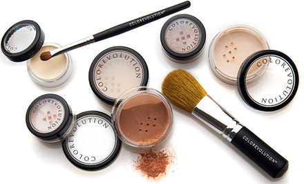 Colorevolution 8-Piece Mineral Makeup Starter Kit