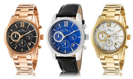 Lucien Piccard Mulhacen Men's Chronograph Watch Collection