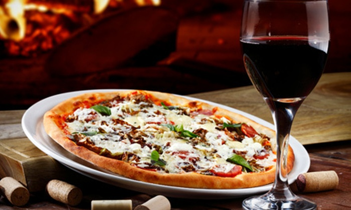 Brick NYC - Tribeca: $39 for a Pizza-Making Class and Wine Tasting for Two at Brick NYC ($80 Value)