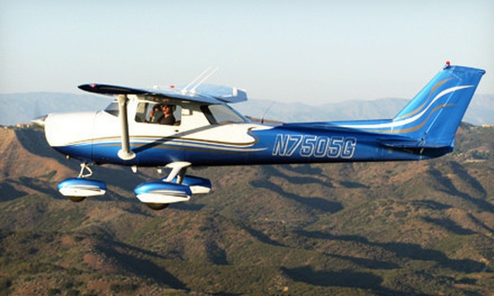 Rotor F/X - Rotor F/X  : 30- or 45-Minute Airplane Flight for Two with Champagne and Chocolates from Rotor F/X (Up to 74% Off)