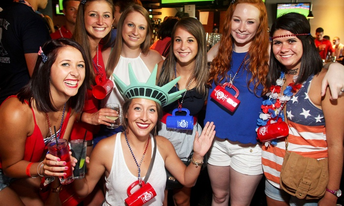 Project DC Events - Multiple Locations: $12 for Admission to All American Bar Crawl from Project DC Events on Saturday, June 27 ($20 Value)