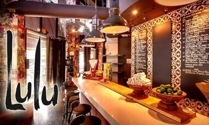 Lulu Miami - Northeast Coconut Grove: $10 for $20 Worth of Organic and Worldly Cuisine and Drinks at Lulu