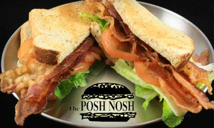 The Posh Nosh Deli - Clayton: $10 for $20 Worth of Sandwiches, Cold Cuts, and Beverages at The Posh Nosh Deli in Clayton