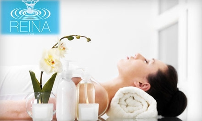 """Reina Spa - Wicker Park: $59 for Your Choice of Diamond Microdermabrasion, Luminous """"C"""" and Sea Mask, or 90-Minute Massage ($120 value) at Reina Spa"""