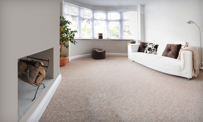 AJ Rose Carpets & Flooring - Multiple Locations: $89 for Three Rooms of Carpet Cleaning from A.J. Rose Carpets & Flooring ($272.50 Value)