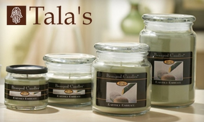 Tala's - Multiple Locations: $10 for $20 Worth of Hand-Crafted Jewelry, Candles, and More at Tala's