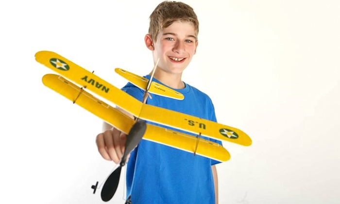 Hobby Quest - North Jersey: $149 for Model Airplane Building Party for 12 Children from Hobby Quest ($300 Value)