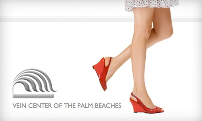 The Vein Center of the Palm Beaches - Royal Palm Beach-West Jupiter: $99 for Two Spider-Vein Treatments at The Vein Center of the Palm Beaches ($730 Value)