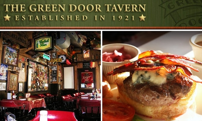 Green Door Tavern - Near North Side: $10 for $25 Worth of Food and Drink at Green Door Tavern