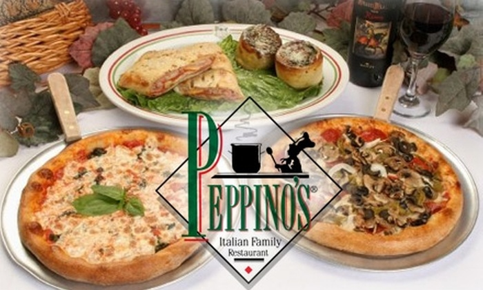Peppino's - Multiple Locations: $25 for $50 Worth of Italian Cuisine at Peppino's