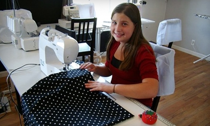 The Designer's Lounge - Uptown: $50 for Five Hours of Private Sewing Lessons ($100 Value) or $15 for a Tote-Making Class ($30 Value) at The Designer's Lounge