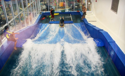 One 30-Minute Indoor-Surfing Sessions on the FlowRider (a $20 value) - Surf Style in Clearwater Beach