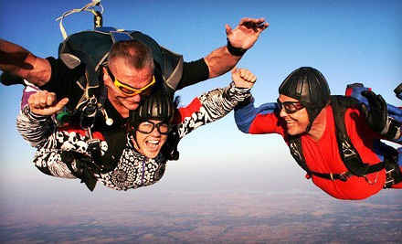 Tandem Skydive with a Digital Video for 1 (a $298 value) - Chattanooga Skydiving Company in Jasper