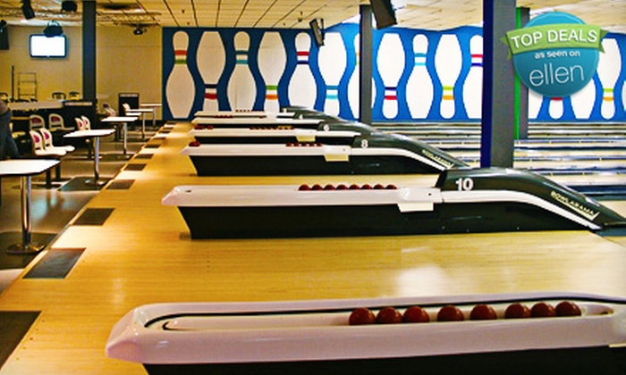 Bowlarama - Multiple Locations: $19 for a Three-Game Bowling Outing and Shoe Rental for Up to Four People at Bowlarama (Up to $47.24 Value)
