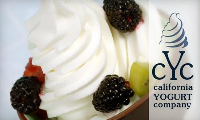 California Yogurt Company - Conway: $5 for $10 Worth of Frozen Yogurt at California Yogurt Company