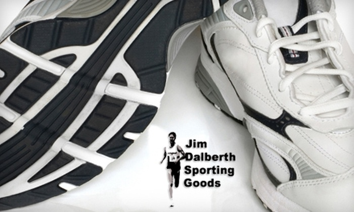 Jim Dalberth Sporting Goods - Genesee-Jefferson: $25 for $50 Toward Shoes and Apparel at Jim Dalberth Sporting Goods