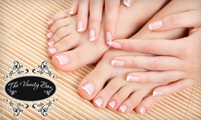 The Vanity Box - Bay Area: $25 for a Mani-Pedi at The Vanity Box