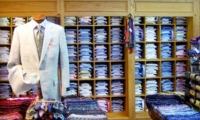 Siegel's Clothing Co. - Multiple Locations: $15 for $30 Worth of Clothing and Gifts at Siegel's Clothing Co.
