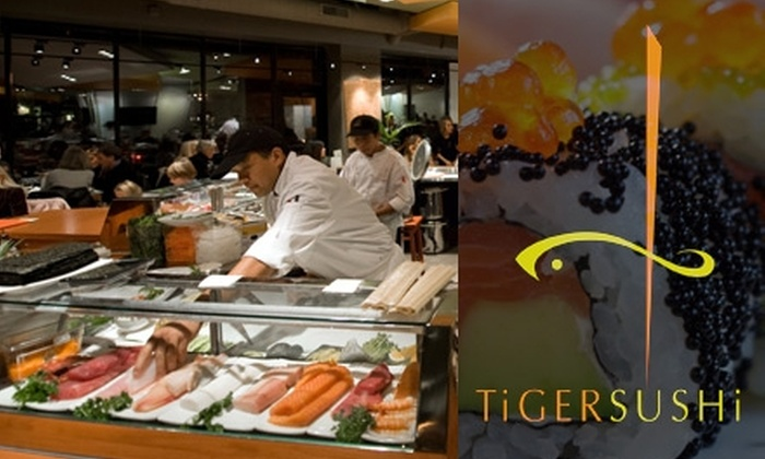 Tiger Sushi 2 - Minneapolis / St Paul: $30 Worth of Inventive Sushi and Drinks at Tiger Sushi 2