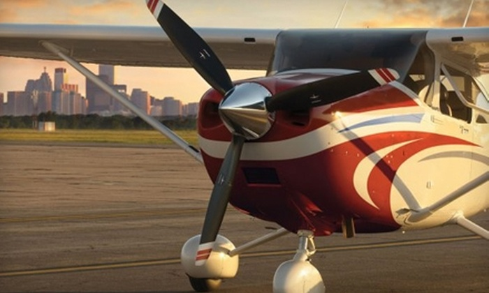 424 Aviation - The Crossings: $64 for One-Hour Flight Lesson from 424 Aviation ($129 Value)