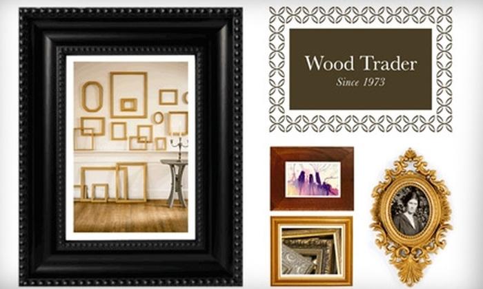 Wood Trader - Cleveland Heights: $50 for $100 Worth of Custom Framing at Wood Trader