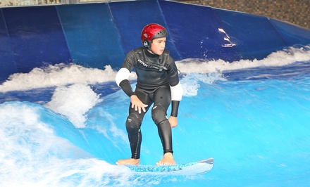 Indoor Surfing or Boogie Boarding for One or Two at Skyventure New Hampshire's Surf's Up (Up to 33% Off)