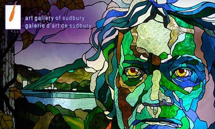 Art Gallery of Sudbury - Sudbury: $5 for Two Tickets to the Art Gallery of Sudbury (Up to $10 Value)
