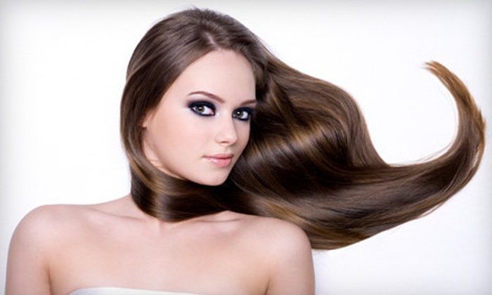 Stars Beauty Centre - Dixie: Haircut or Partial Highlights with Blow-Dry and Deep Conditioning at Stars Beauty Centre in Mississauga (Up to 65% Off)