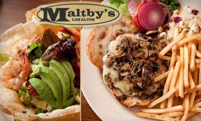 Maltby's Restaurant - San Jose: $20 for $40 Worth of Casual American Fare and Drinks at Maltby's Restaurant