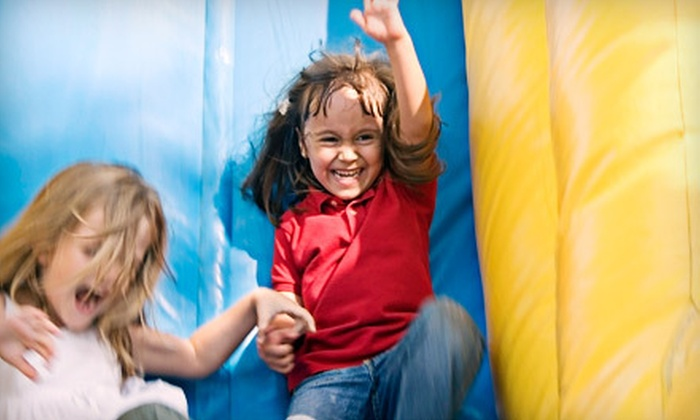 Kidz-N-Play - North Raleigh: Indoor-Playground Outing to Kidz-N-Play (Up to Half Off). Three Options Available.
