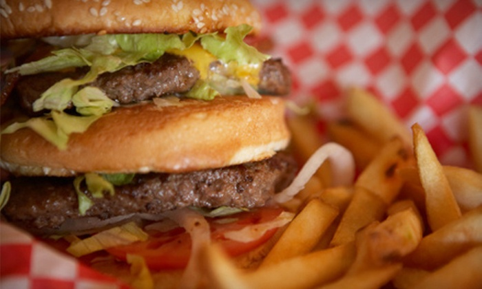 Home Run Burgers & Fries - Multiple Locations: $5 for $10 Worth of American Fare at Home Run Burgers & Fries