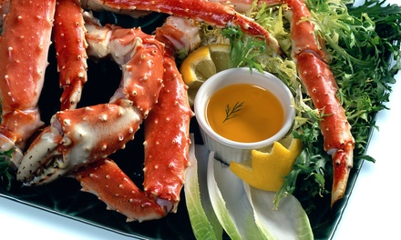 Seafood for Two or Four at Crab Catcher (Up to 50% Off)