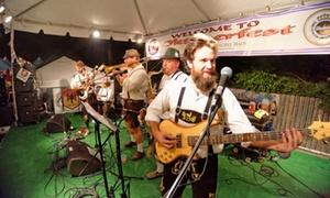 Deutsches Haus: Single-Day Admission to Oktoberfest for Two or Four from Deutsches Haus (Up to 54% Off)