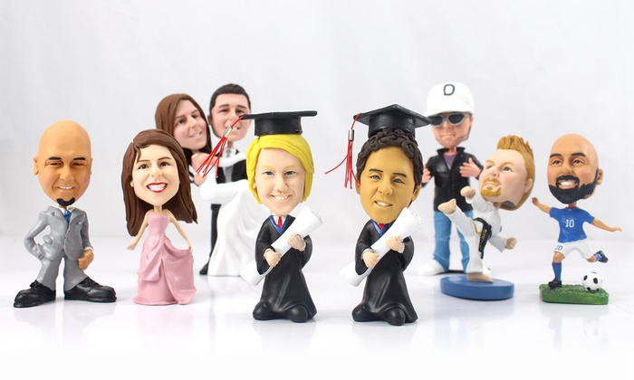 Bobble Bobble: Custom Bobble Heads at Bobble Bobble (Up to 62% Off). Two Options Available.