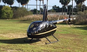 Southeast Helicopter: Historic City Helicopter Tour for One, Two, or Three at Southeast Helicopter (32% Off)