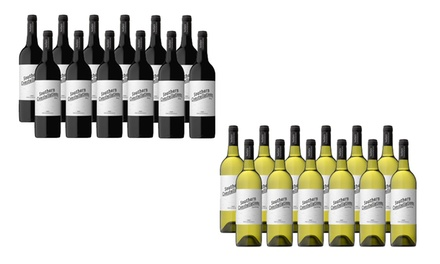 $59 for One Dozen Bottles of Southern Constellations Shiraz or Chardonnay Don't Pay $189