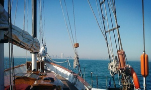 Red Witch Wooden Tall Ship: Tall Ship Red Witch 90-Minute Shoreline Sail Visiting Kenosha with Drinks (May 15–June 5)