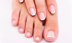 Pure Aesthetics by Izabela: Mani-Pedi with Optional Customized Facial at Pure Aesthetics By Izabela (Up to 65% Off)