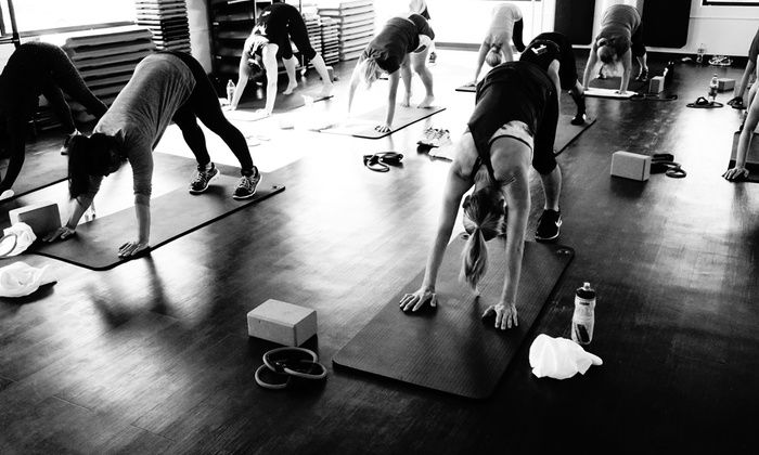 Sweathaus Training Center - Sweathaus Health and Fitness: $45 for $89 Groupon — Sweathaus Health & Fitness